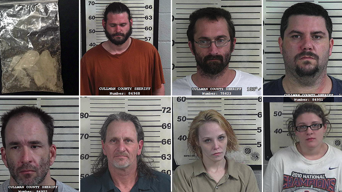 Cullman County drug arrests