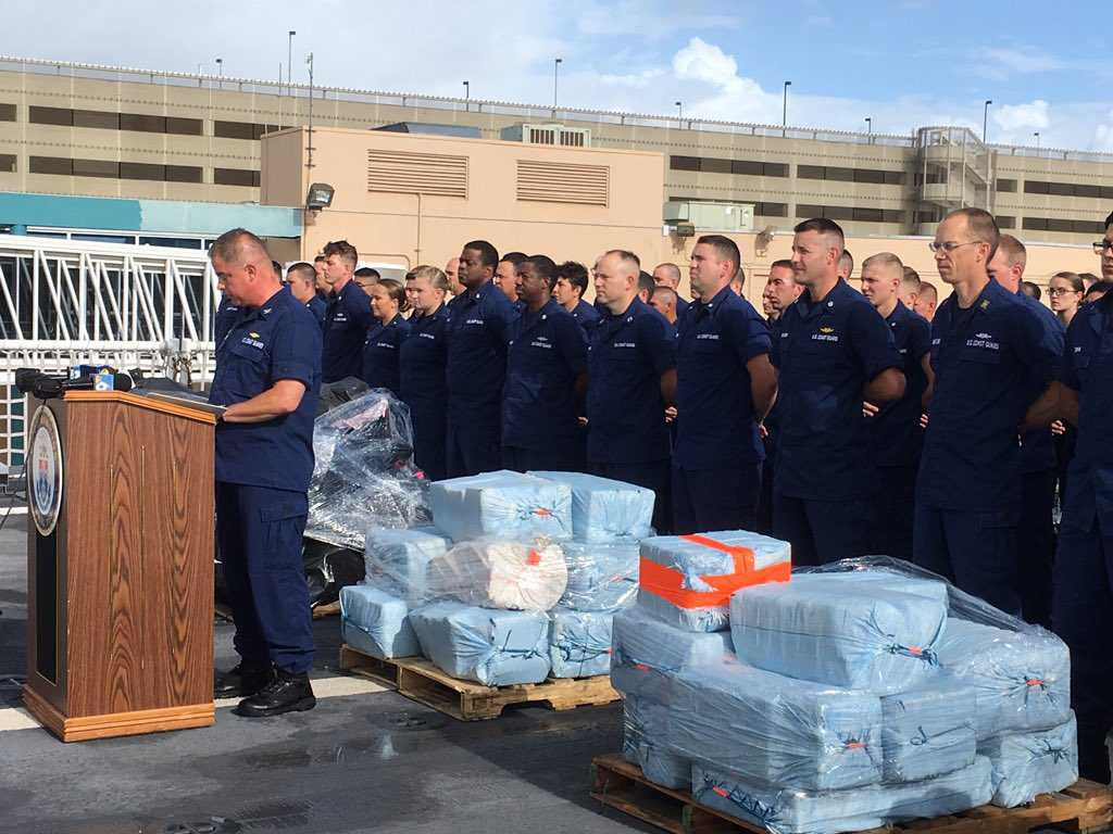 Coast Guard Unloads $500M In Cocaine From 20 Seizures