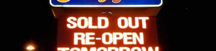 Dairy Queen sells out of ice cream
