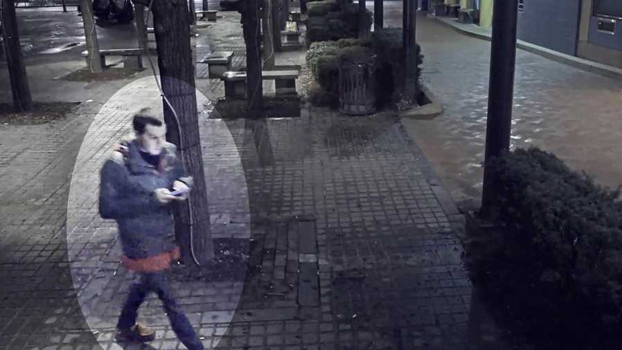 Surveillance image of Dakota James