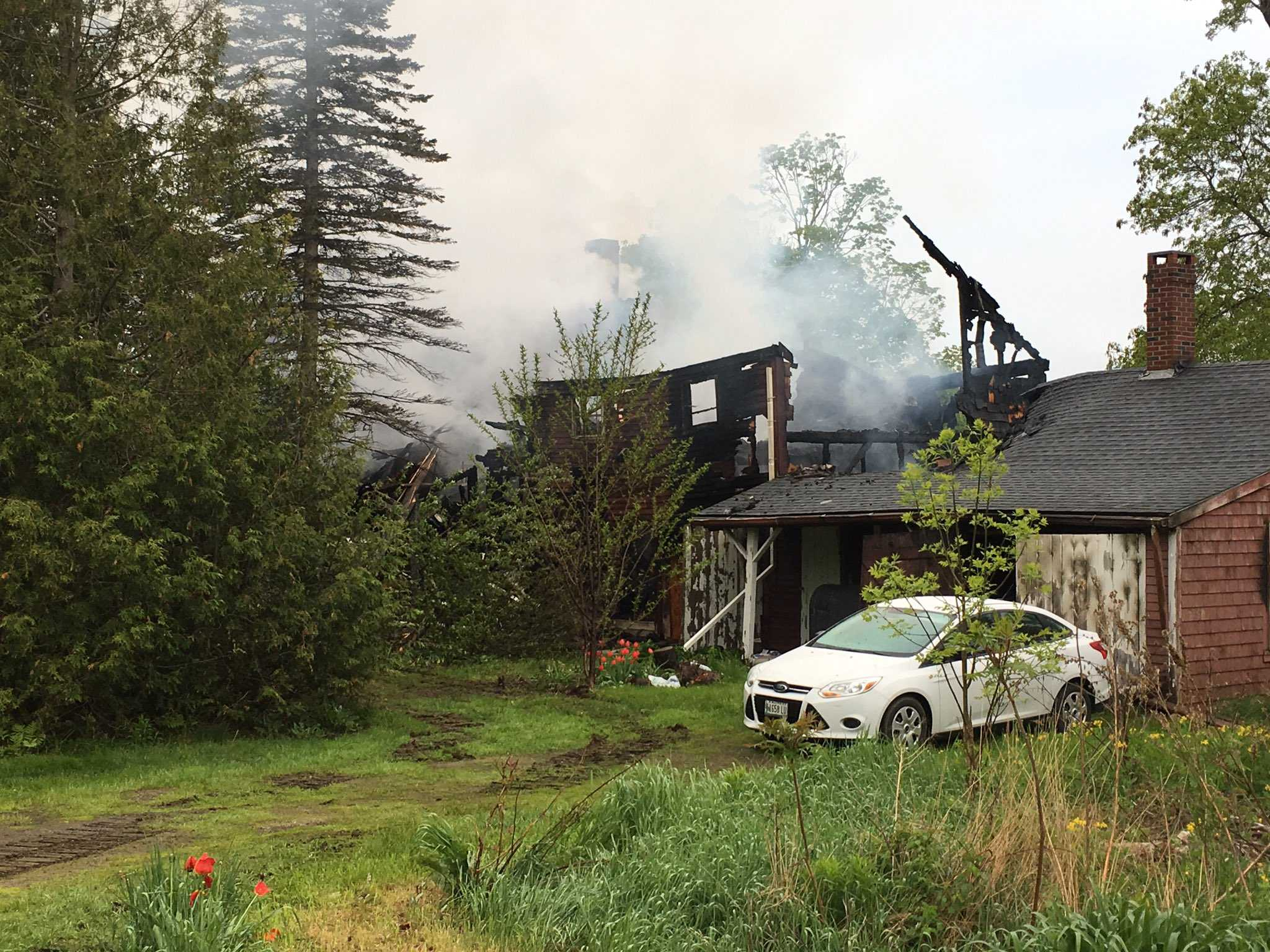 80-year-old Union man killed in farmhouse blaze