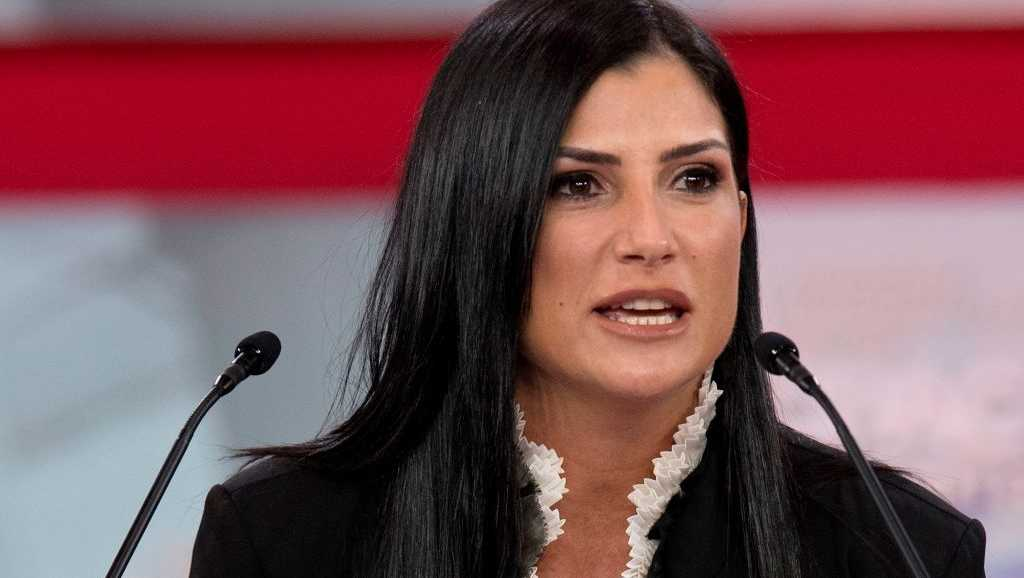 Spokesperson for the National Rifle Association (NRA) Dana Loesch speaks during the 2018 Conservative Political Action Conference at National Harbor in Oxon Hill, Maryland on February 22, 2018.