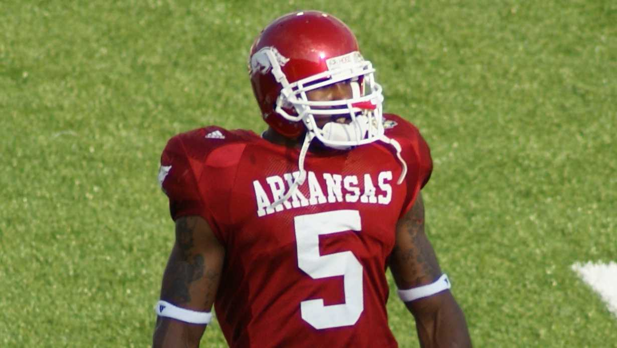 Darren McFadden playing for Arkansas in 2007