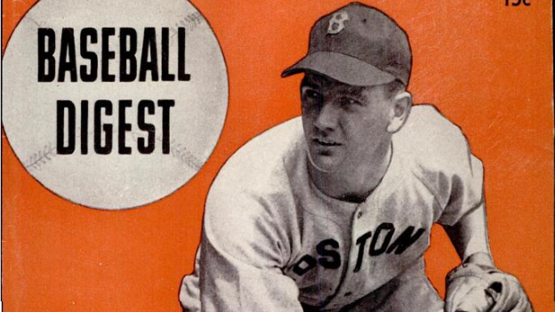 "David ""Boo"" Ferriss on the cover of Baseball Digest"