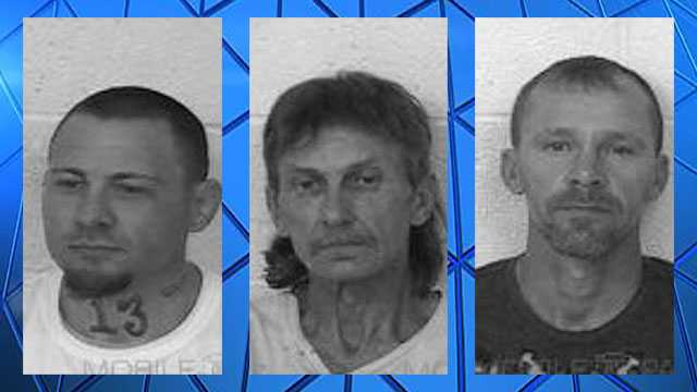 Three escape from Prentiss County Jail