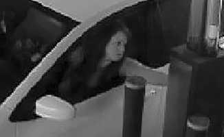 Car break-in suspect