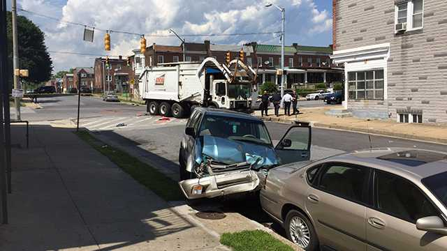 Edmondson Avenue crash