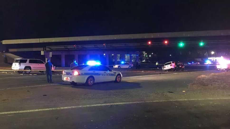 I-85 crash in Charlotte
