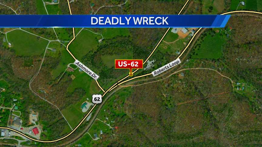 A 24-year-old Springdale man was killed in a wreck in Benton County Sunday evening.