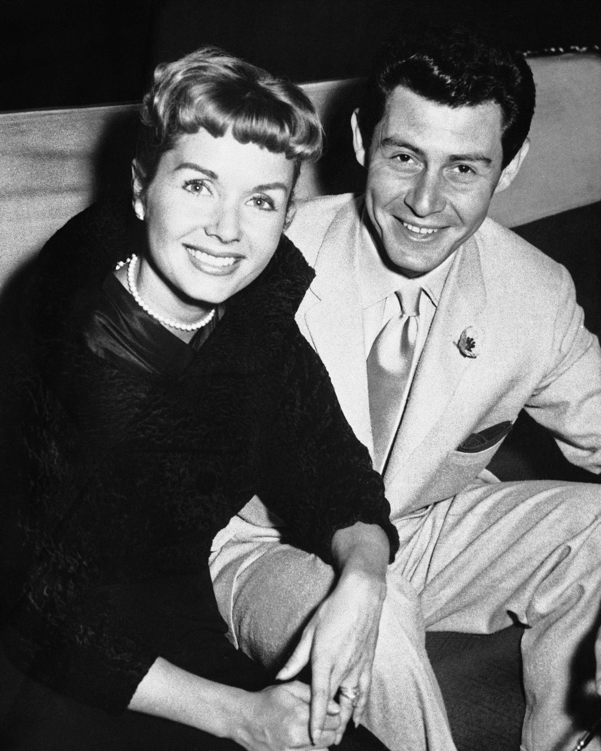 Debbie Reynolds and Eddie Fisher