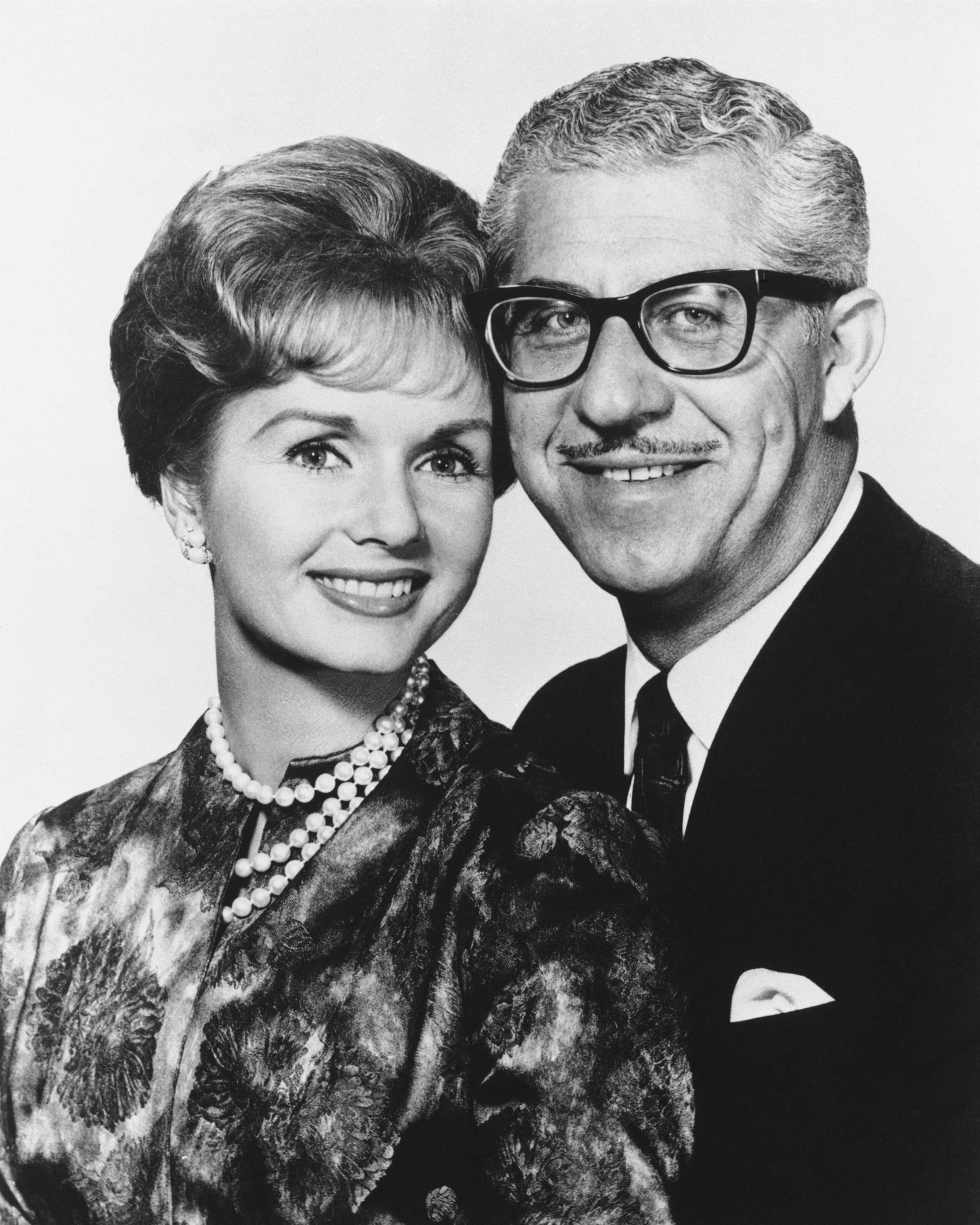 Debbie Reynolds and Harry Karl
