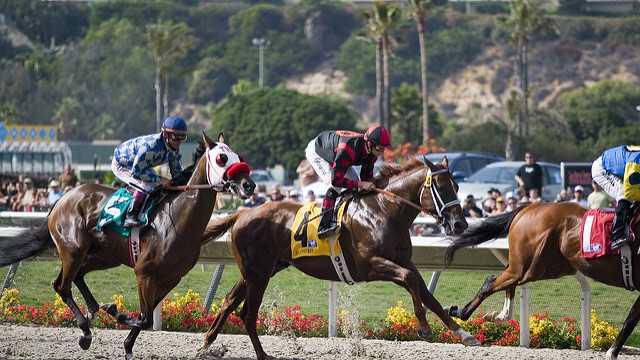 Del Mar horse racing track