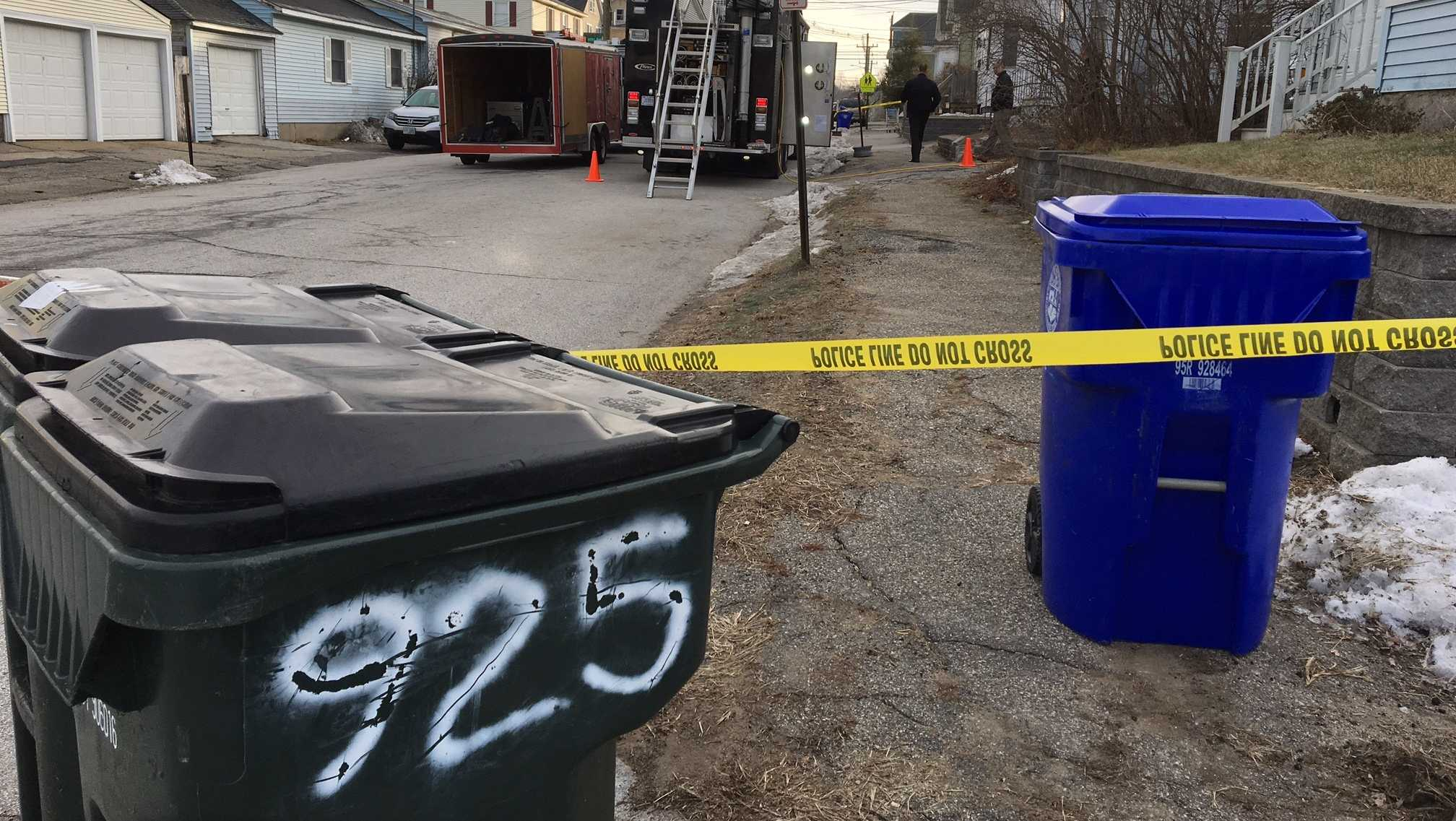 Investigators search former home of missing Manchester woman