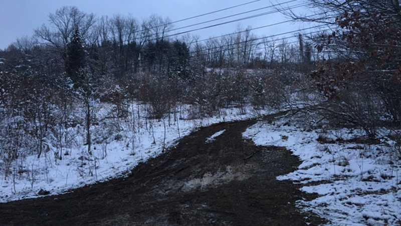 A body was found in a heavily wooded area of Derry Township.