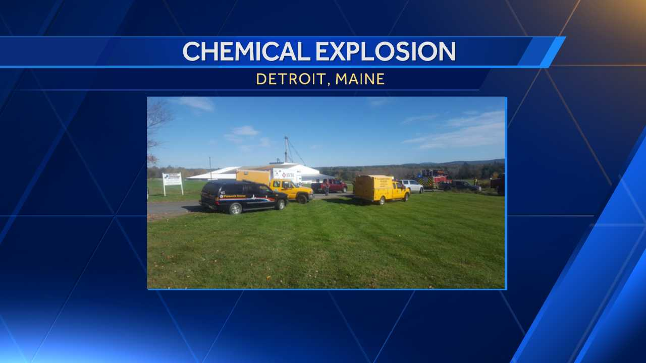 Multiple people hospitalized after chemical explosion