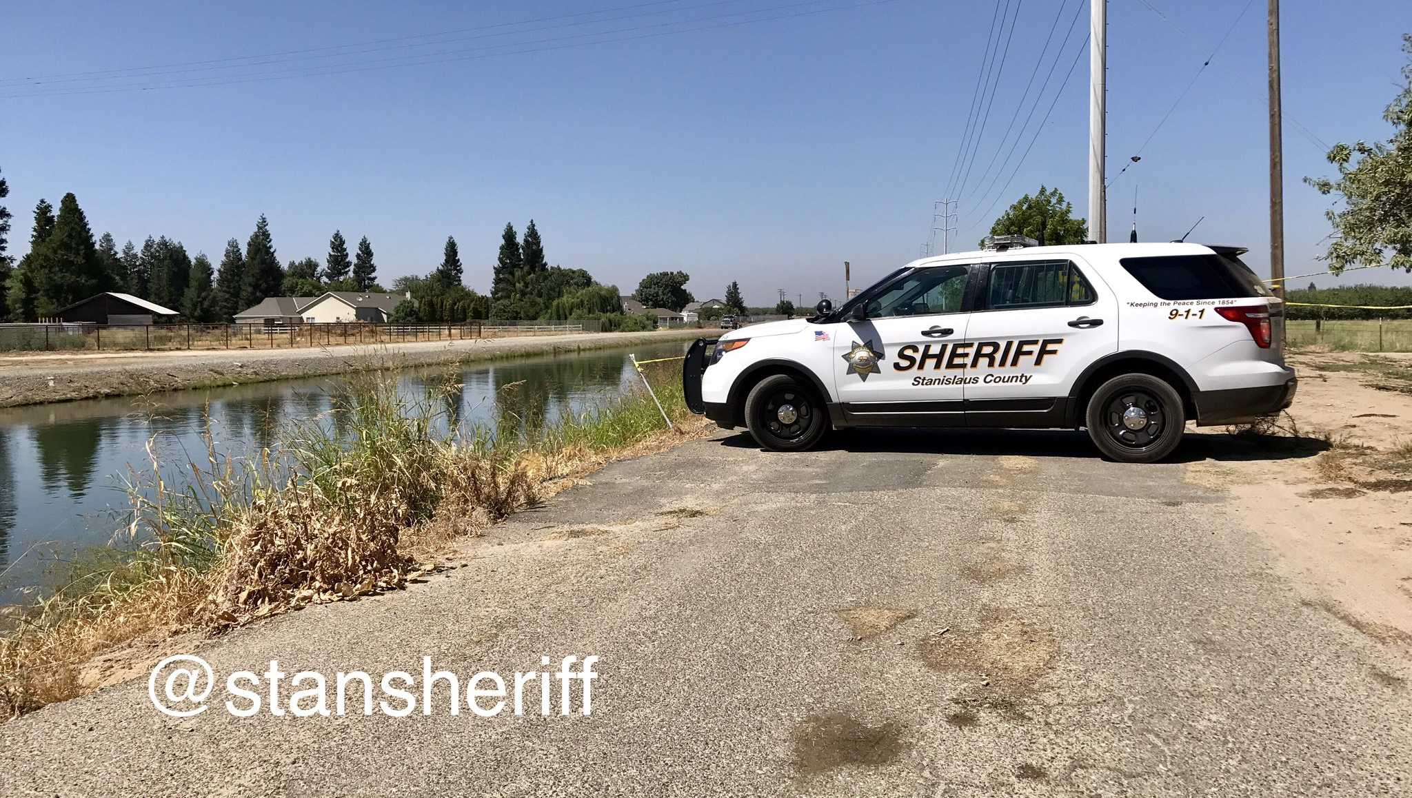 A body was found in a Turlock Irrigation District canal on Tuesday, Aug. 8, 2017, the Stanislaus County Sheriff's Department said.