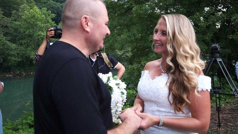 The wedding of Mike Diebold and Danielle Reinke