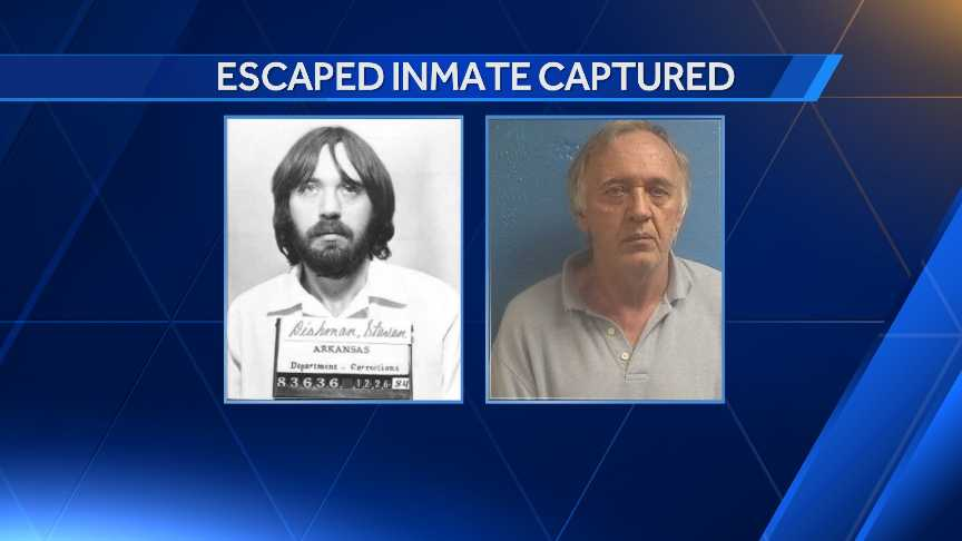 Prison inmate recaptured after 32 years on the run