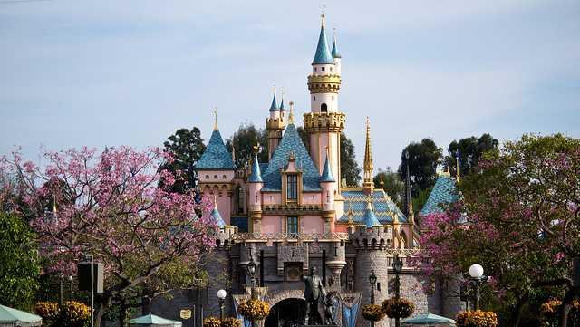 Disneyland in Southern California