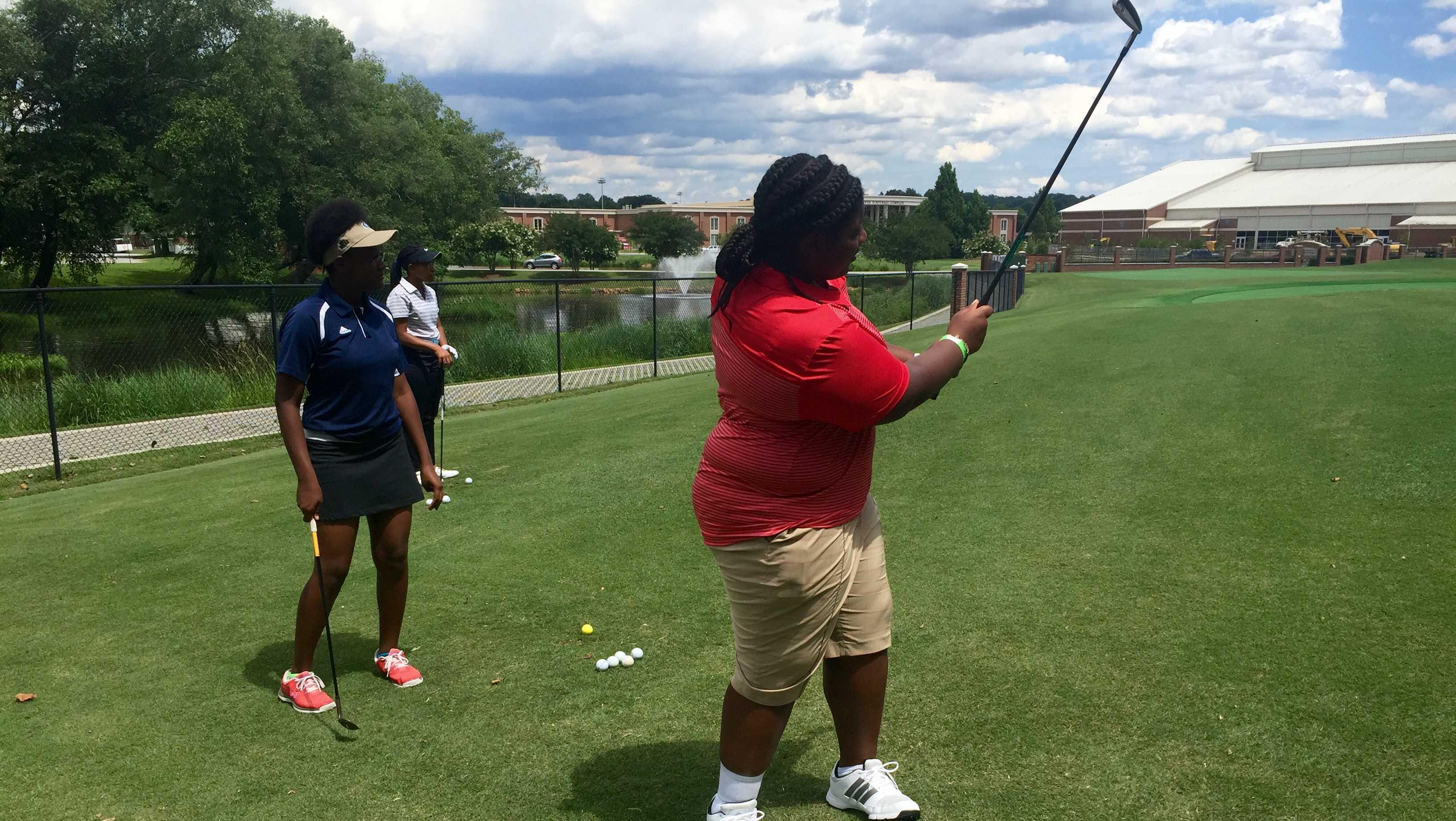Clemson's Diversity Golf Camp