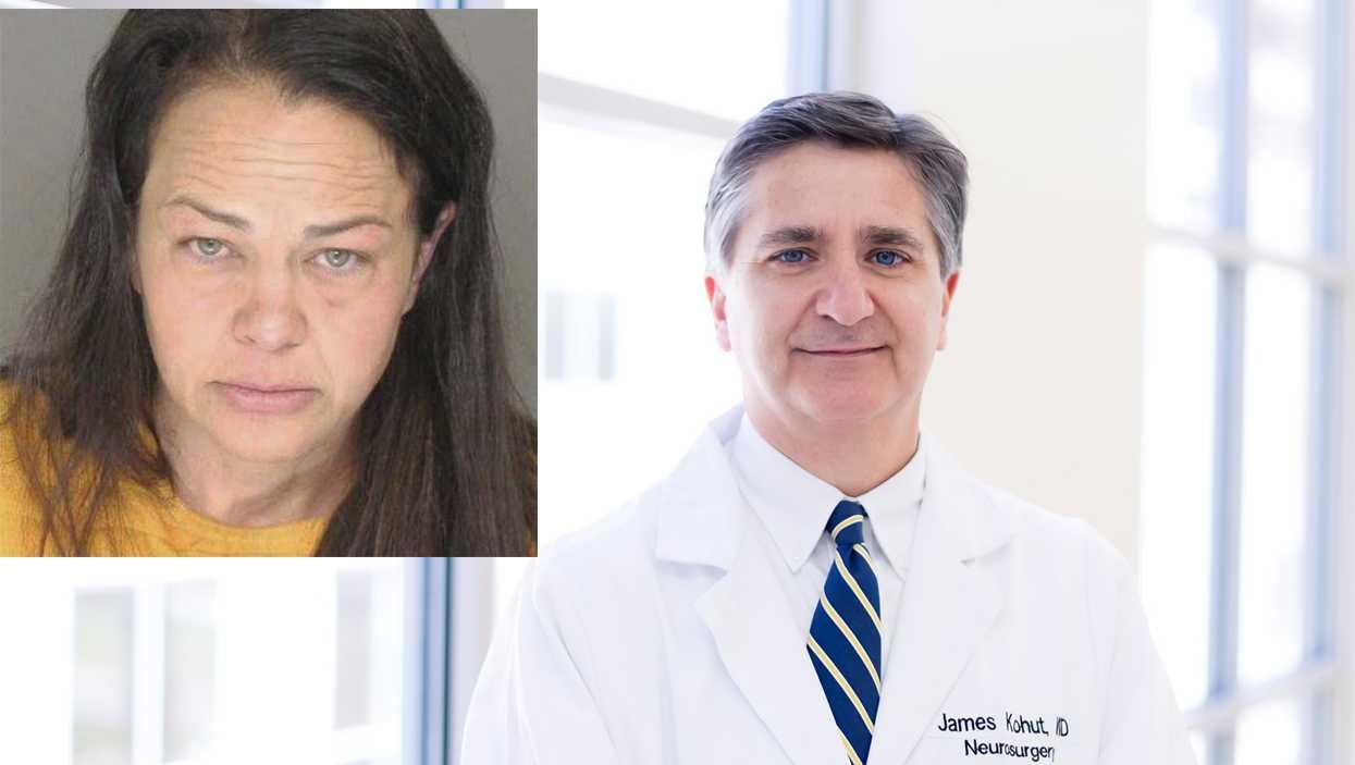 Dr. James Kohut and Rashel Brandon (inset)