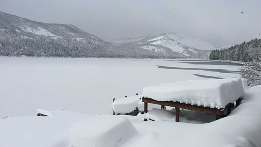 A view of Donner Lake on Monday, Jan. 23, 2017, from the Loch Leven Lodge.