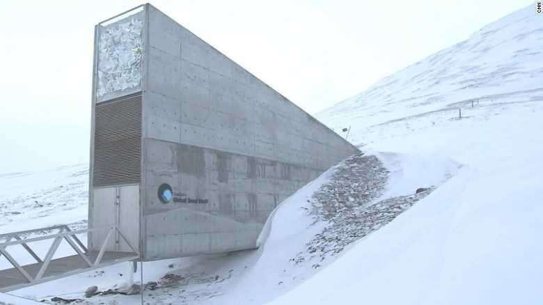 Water gets into 'Doomsday' seed vault