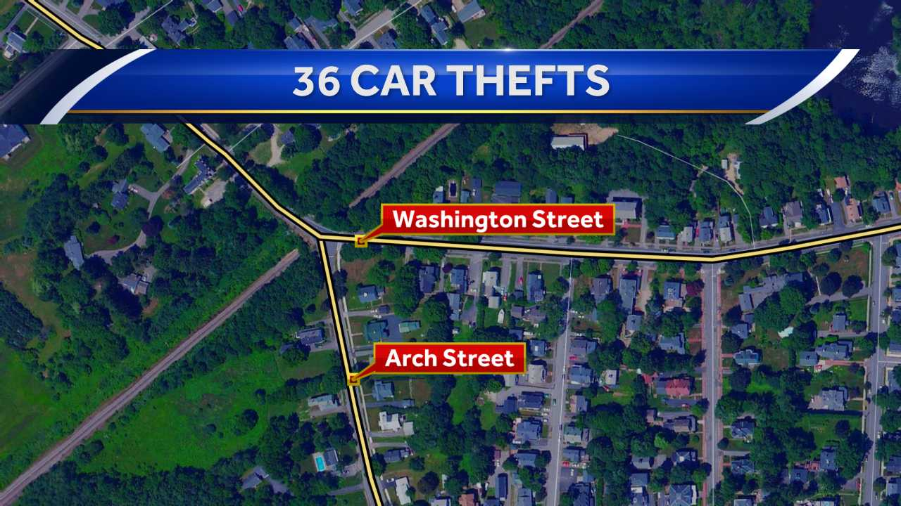 Police investigating car thefts in Dover