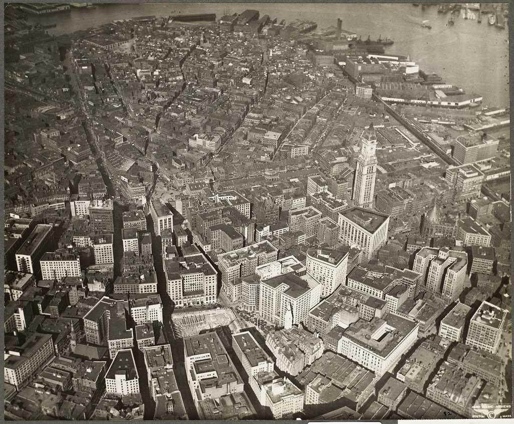 Downtown Boston 1930