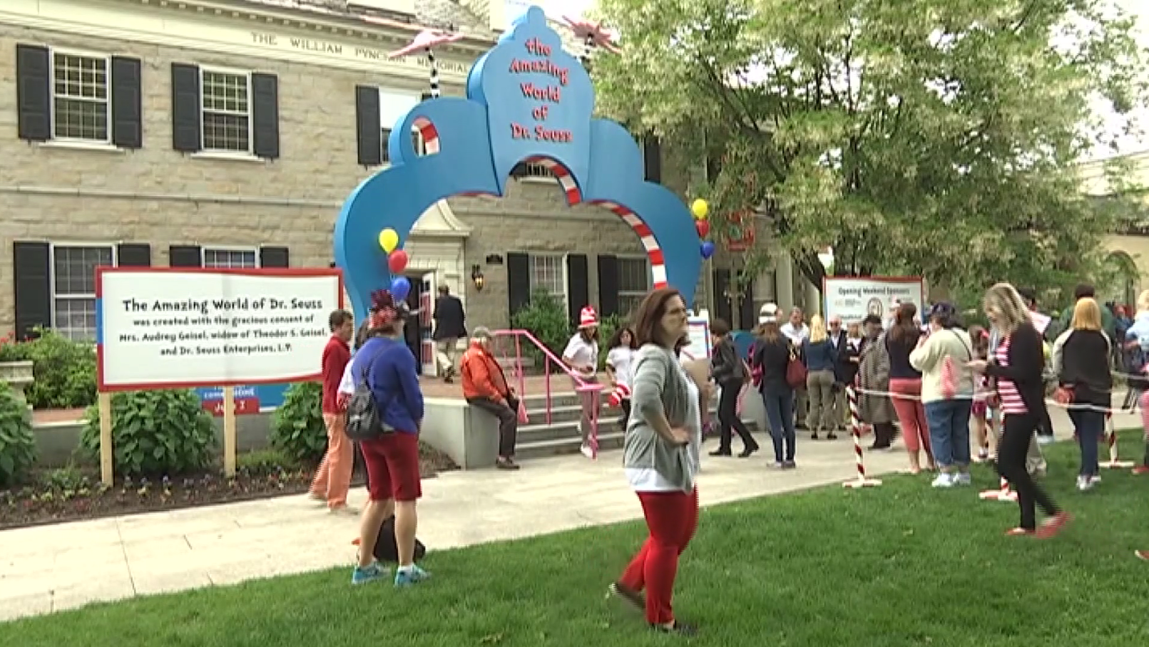 Oh the Places You'll Go! Dr Seuss museum opens doors