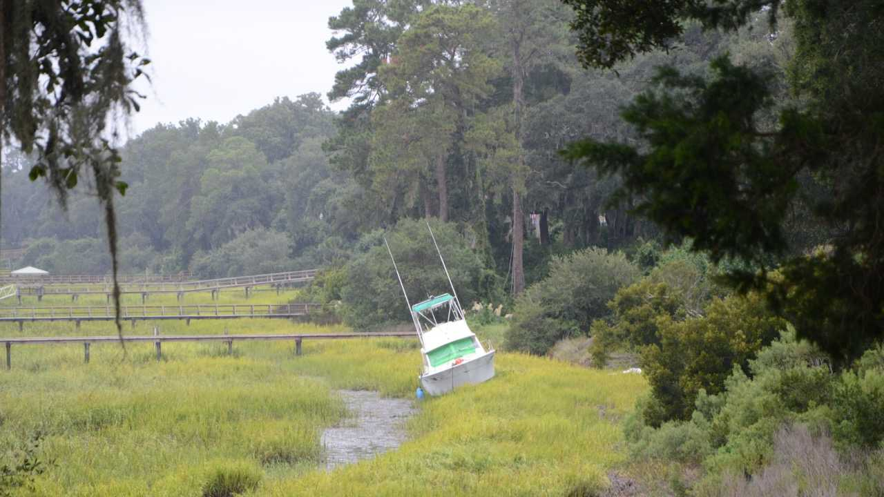 Boat Grounded