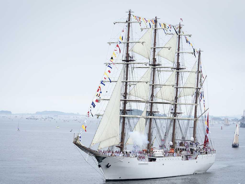 Sail Boston Grand Parade of Sail