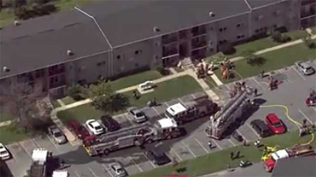 Four Georges Court Dundalk apartment fire