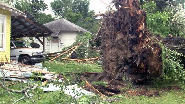 Durant storm damage