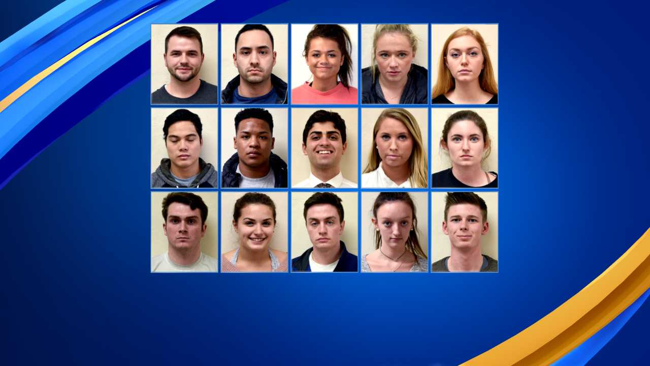 15 people arrested for damaging cars in Durham