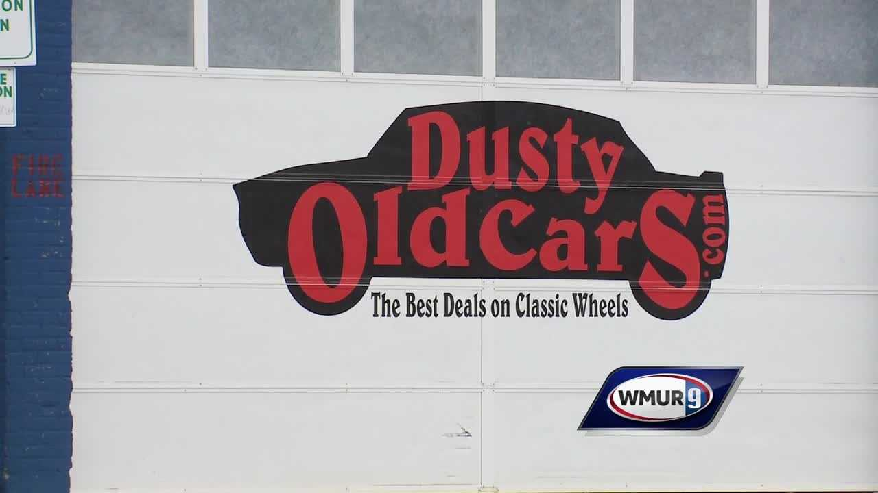 Dusty Old Cars