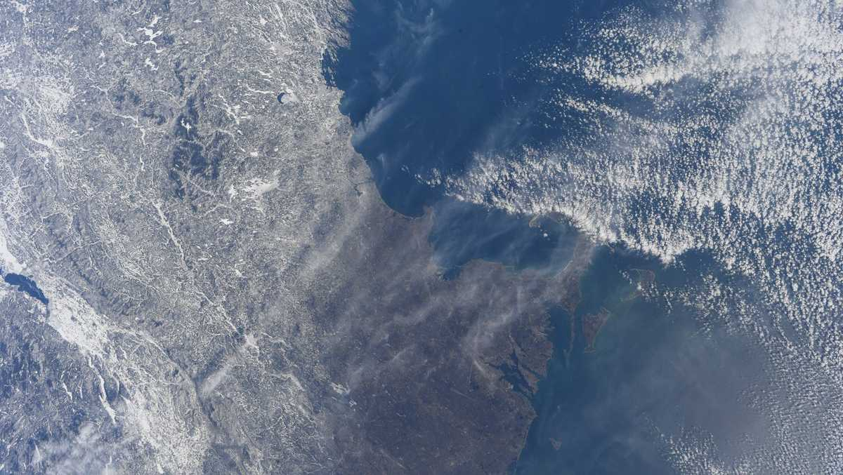 WOW! Astronaut shares incredible pic of New England from space
