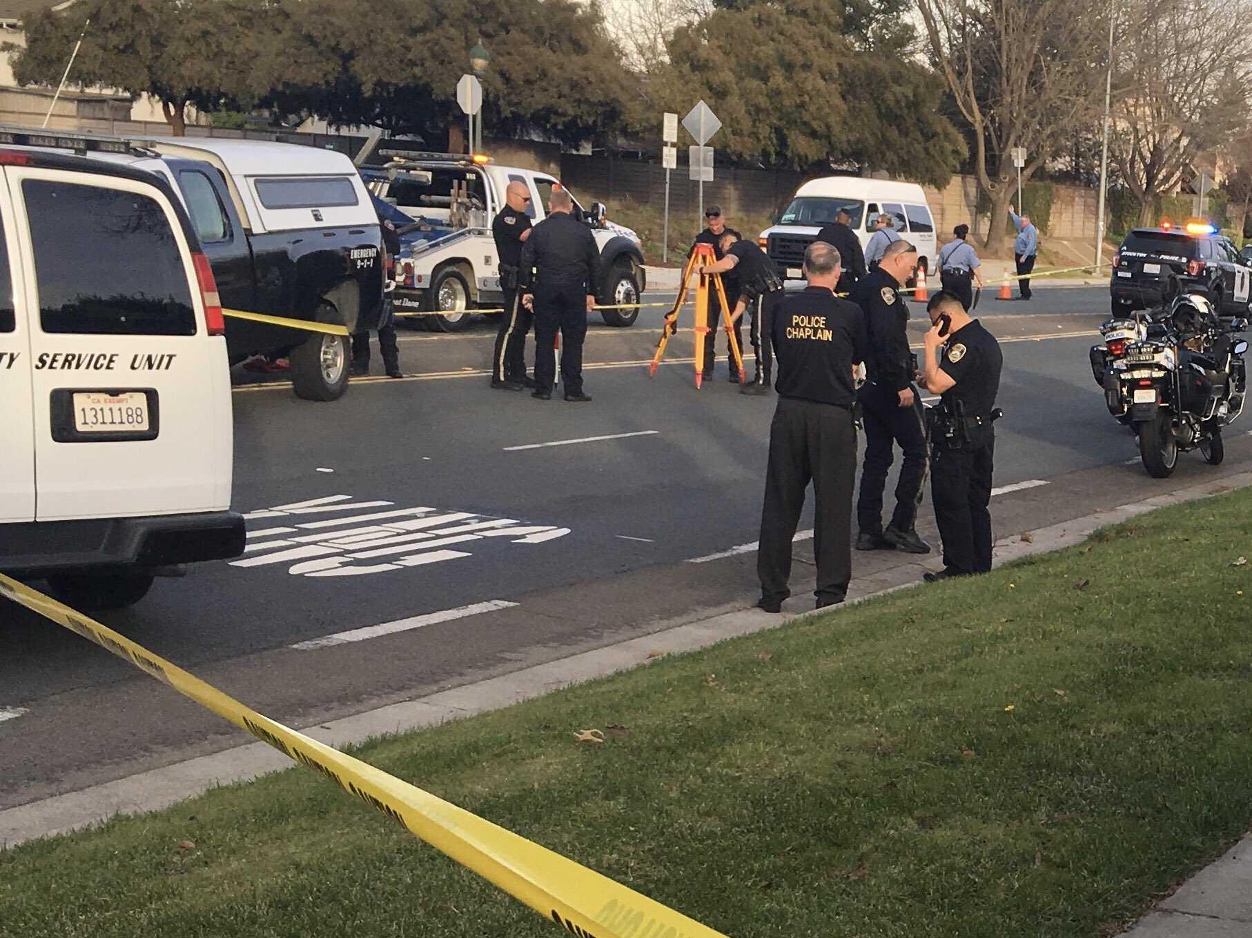 9 year old girl hit by car in Stockton crash Sacramento news