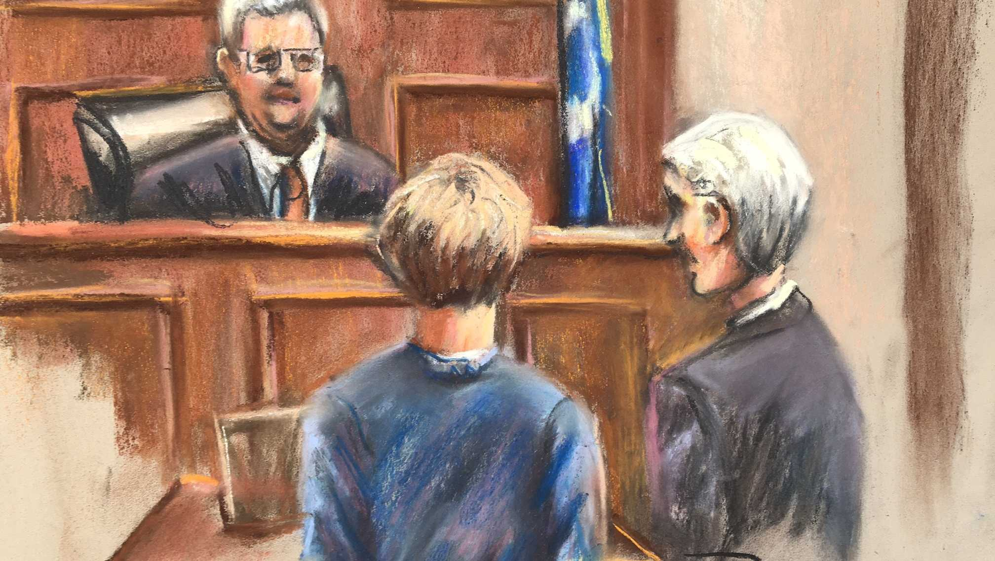 Dylann Roof is representing himself in the penalty phase