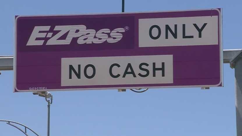 E-ZPass sign
