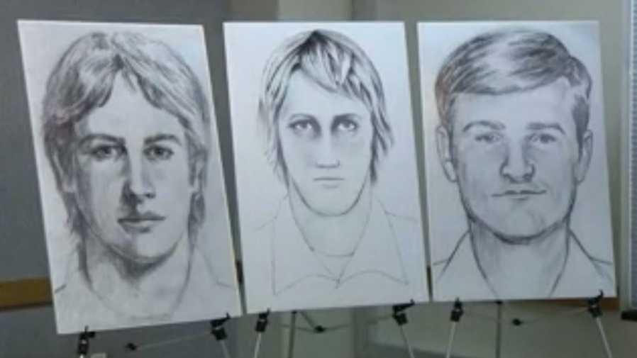 East Area Rapist suspect sketches