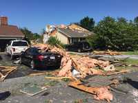 Bay City Eastern Shore possible tornado storm damage