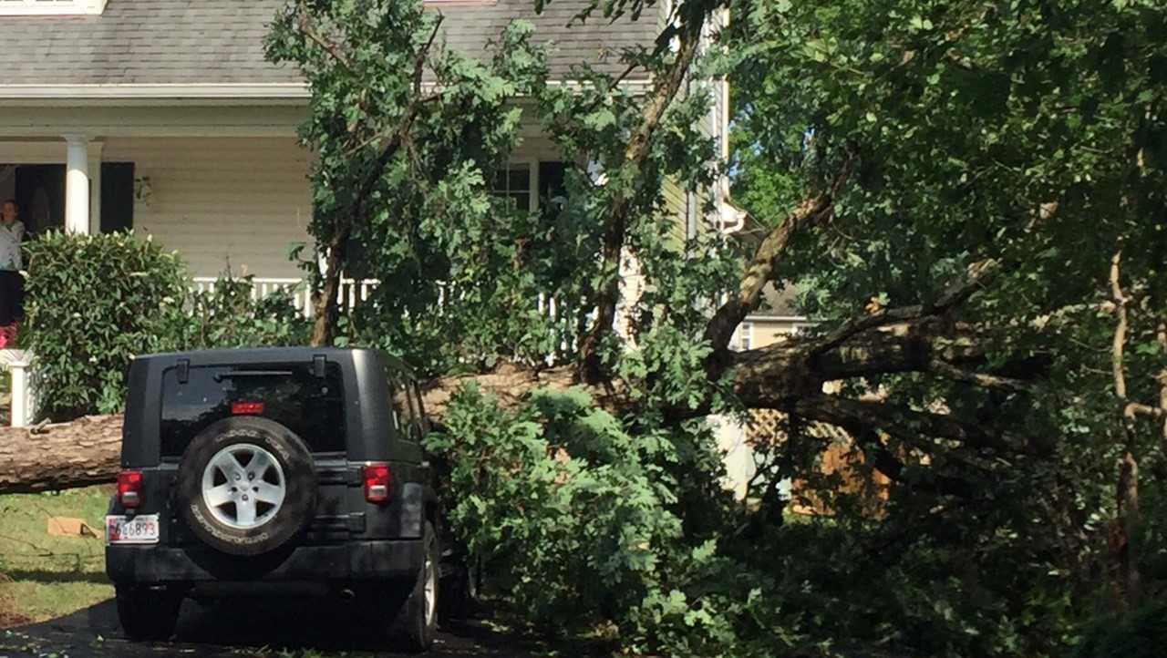 Bay City Eastern Shore possible tornado storm damage