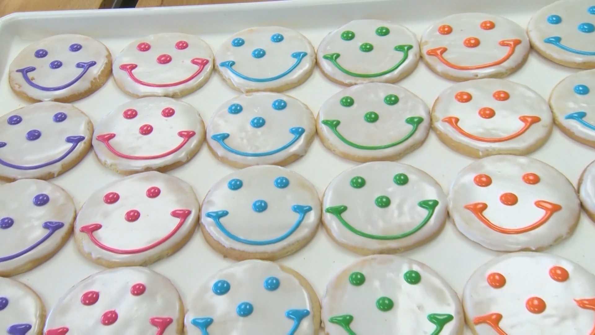 Eat'n Park Smiley cookies