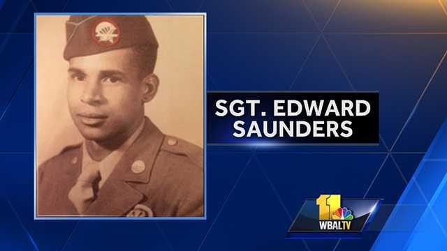 Army Sgt. Edward Saunders
