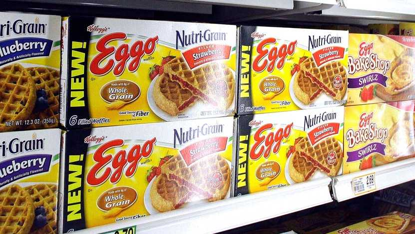 Eggo Nutri Grain Waffles