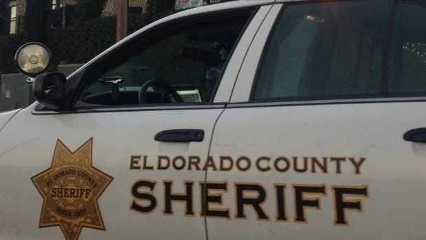 A patrol car for the El Dorado County Sheriff's Office