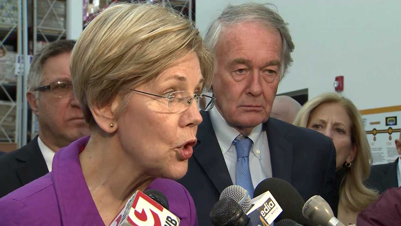 Senators Warren and Markey