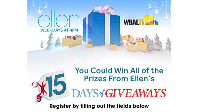 Ellen 15 Days Sweepstakes