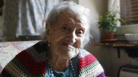 Emma Morano will turn 117 this week.